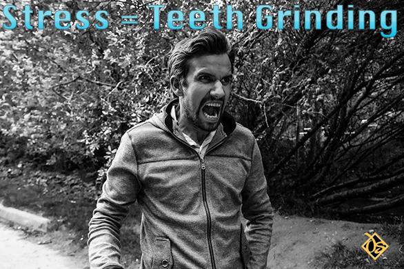 stress teeth grinding